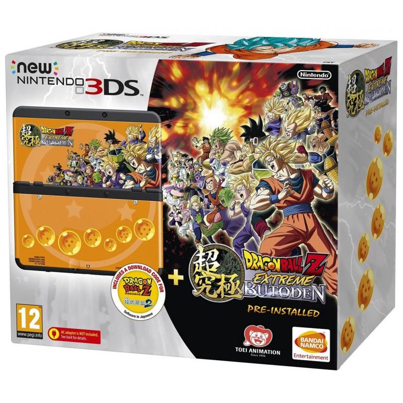 Nintendo 3DS Nouveau Modéle / Noir + Jeux + Coque Dragon Ball Z
