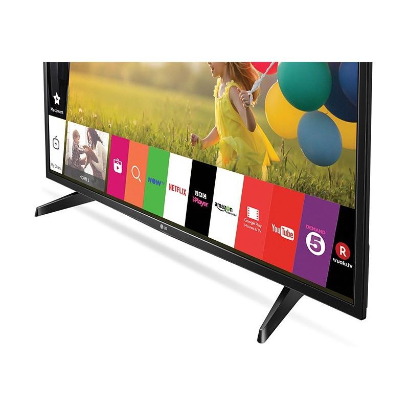 t l viseur lg 43 led full hd smart tv wifi avec r cepteur int gr. Black Bedroom Furniture Sets. Home Design Ideas