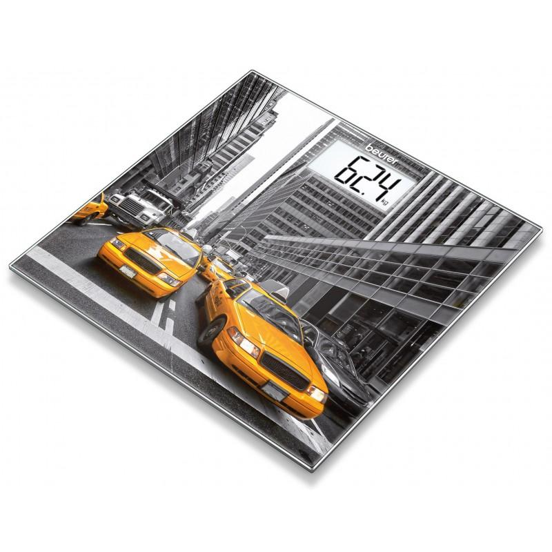 Pèse-personne en verre Beurer GS 203 New York