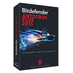Bitdefender Antivirus Plus 2015 - 1 an / 1 Pc