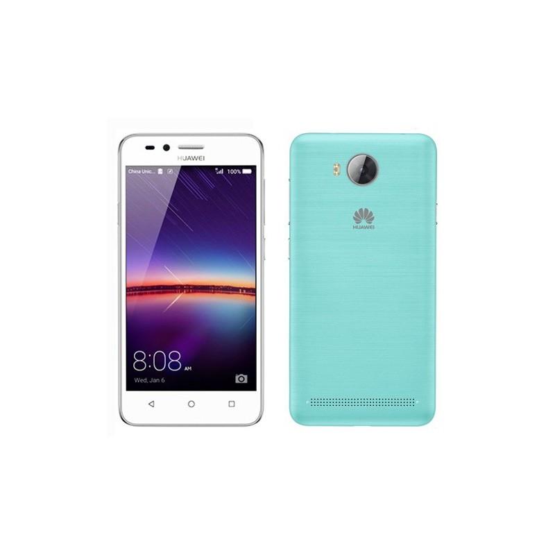 Téléphone Portable Huawei Y3 II 4G / Blanc + Film de protection + Coque + SIM Offerte