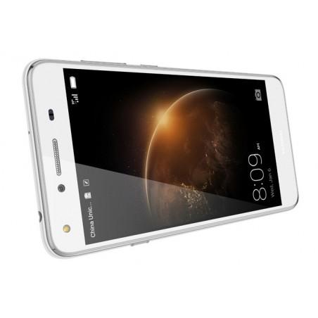 Téléphone Portable Huawei Y5 II 4G / Blanc + Film de protection + Coque + SIM Offerte
