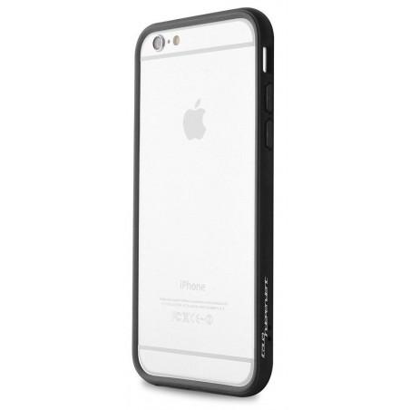 Bumper en Silicone Puro pour iPhone 6 / Noir