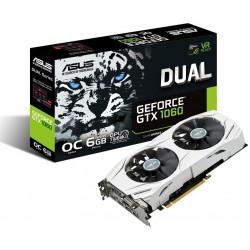 Carte graphique Asus DUAL-GTX1060-O6G GeForce GTX 1060 / 6 Go