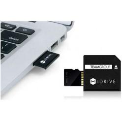 Carte Mémoire MiDRIVE Micro SDXC / 64 Go avec Adaptateur