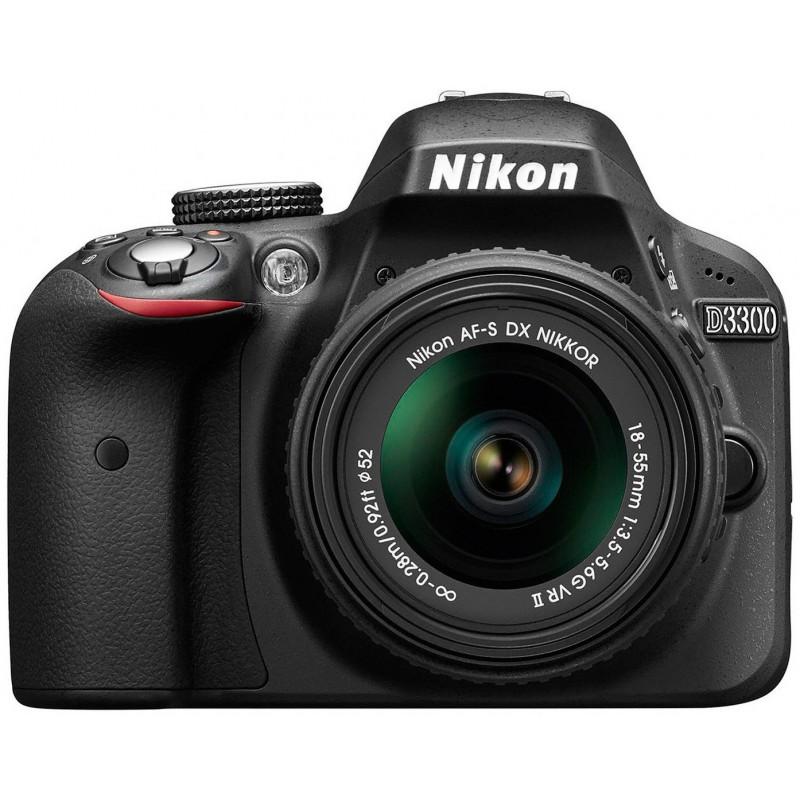 Réflex Numérique Nikon D3300 + Objectif Nikkor 18-140mm