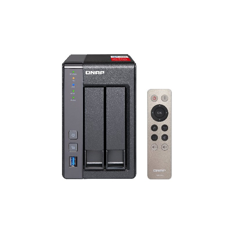 Serveur NAS 2 Baies QNAP TS-251+2G / 4To