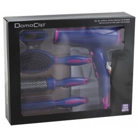 Set de coiffure sèche-cheveux et brosses DomoClip DOS123