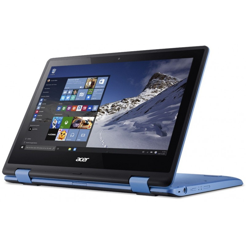 pc portable acer aspire r11 quad core 4 go bleu. Black Bedroom Furniture Sets. Home Design Ideas