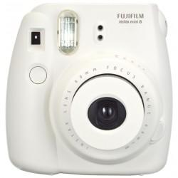 Appareil photo à impression instantanée Fujifilm Instax Mini 8 / Blanc