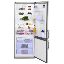 Réfrigérateur BEKO Semi No Frost 455L / Silver