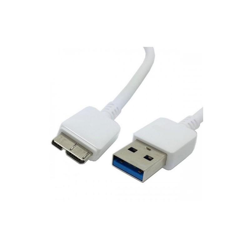 Câble USB 3.0 Mâle/Mâle - 0.5 m