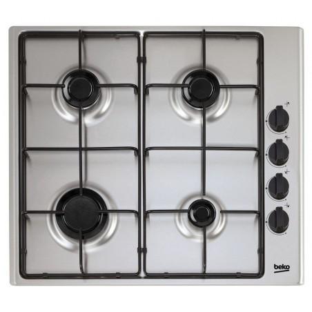 Plaque de cuisson encastrable Beko 4 Feux / Inox