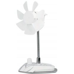Lampe LED USB ?avec Petite ventillateur Pour Pc Portable