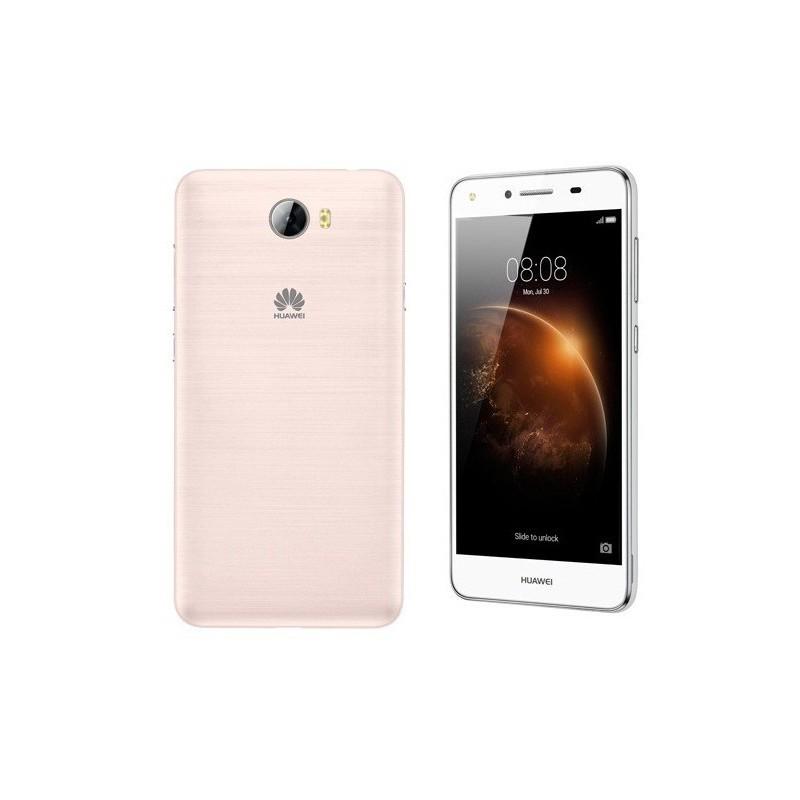 Téléphone Portable Huawei Y5 II 4G / Gold + Film de protection + Coque + SIM Offerte