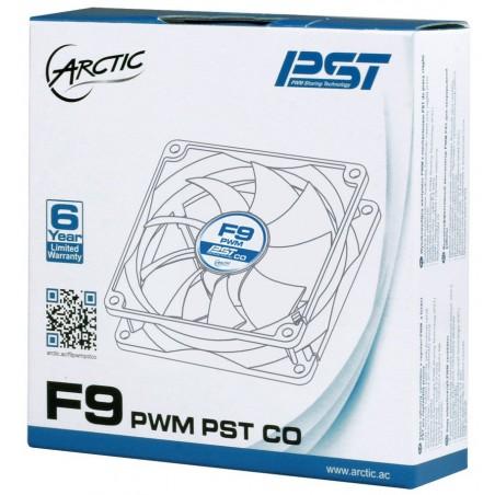 Ventilateur de boîtier Arctic F9 PWM PST CO / 92 mm