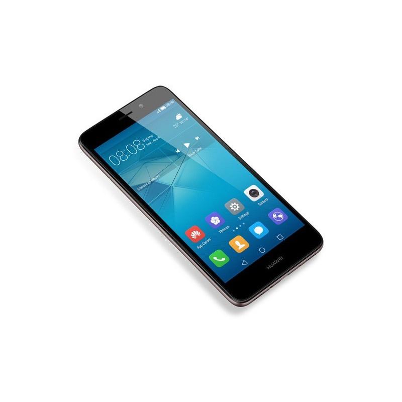 Téléphone Portable Huawei GR5 Mini / 4G / Double SIM / Gris + Film de protection + Coque + SIM Offerte