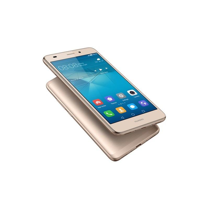 Téléphone Portable Huawei GR5 Mini / 4G / Double SIM / Gold + Film de protection + Coque + SIM Offerte