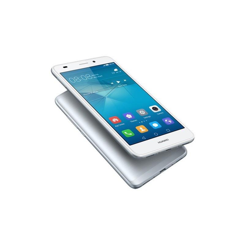 Téléphone Portable Huawei GR5 Mini / 4G / Double SIM / Silver + Film de protection + Coque + SIM Offerte