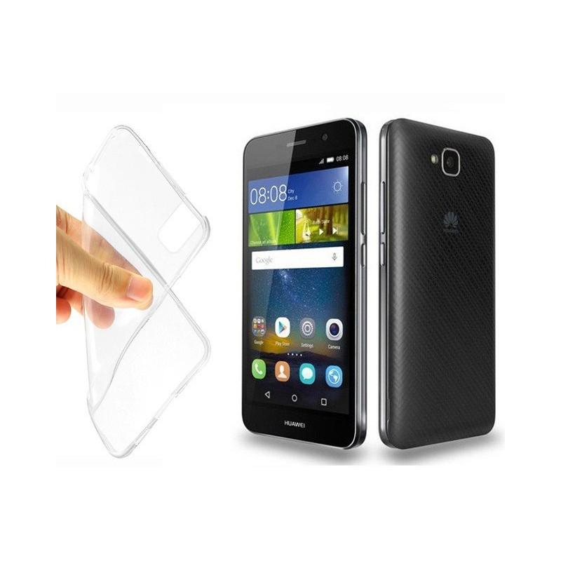 Coque en Silicone pour Huawei Y6 / Transparent