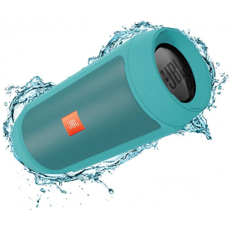Enceinte portable JBL Charge 2+ Splashproof Bluetooth / Turquoise