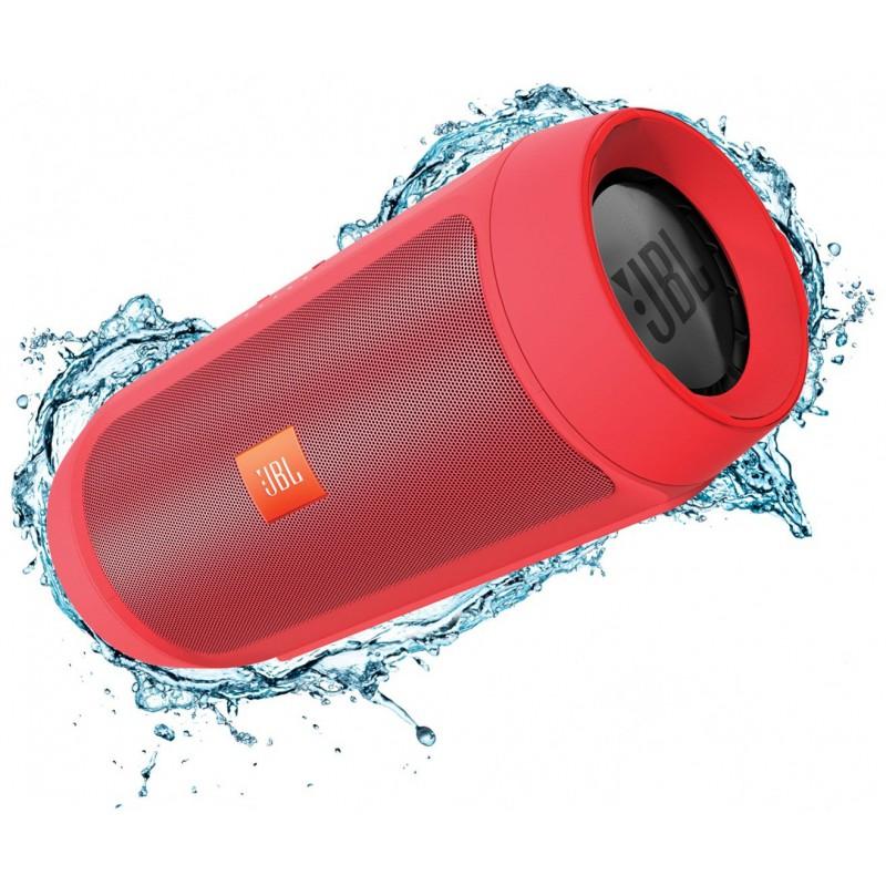 Enceinte portable JBL Charge 2+ Splashproof Bluetooth / Rouge