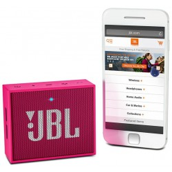 Haut Parleur Portable Bluetooth JBL GO / Rose