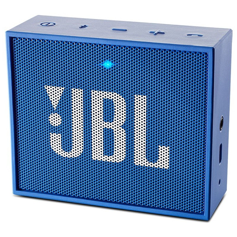 haut parleur portable bluetooth jbl go bleu. Black Bedroom Furniture Sets. Home Design Ideas