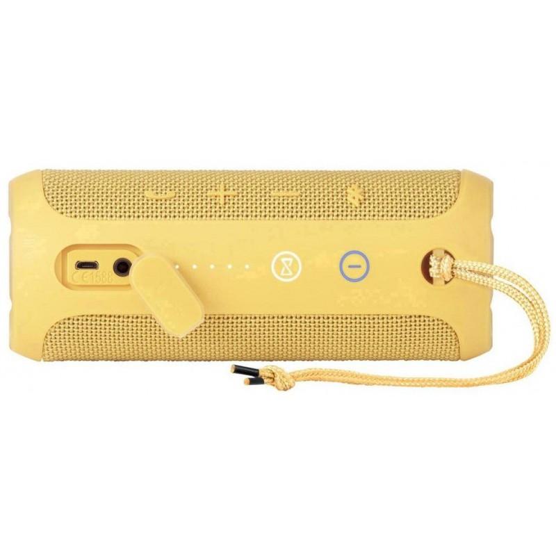haut parleur portable bluetooth jbl flip 3 jaune. Black Bedroom Furniture Sets. Home Design Ideas