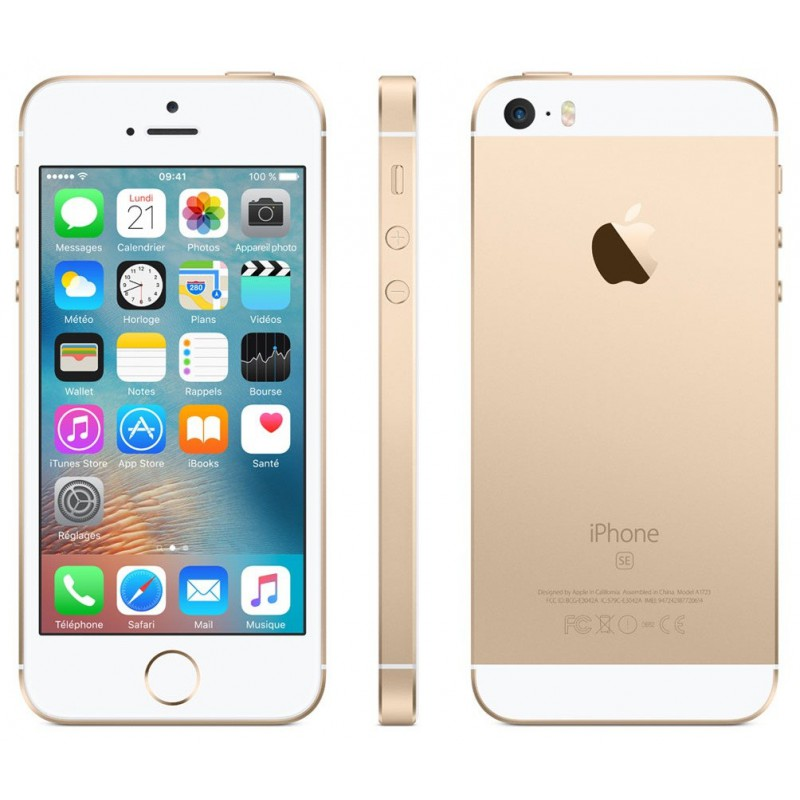 Téléphone portable Apple iPhone SE / 16 Go / Gold