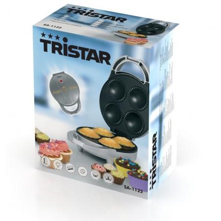 Machine à muffins Corps argenté 4 muffins Tristar SA-1122