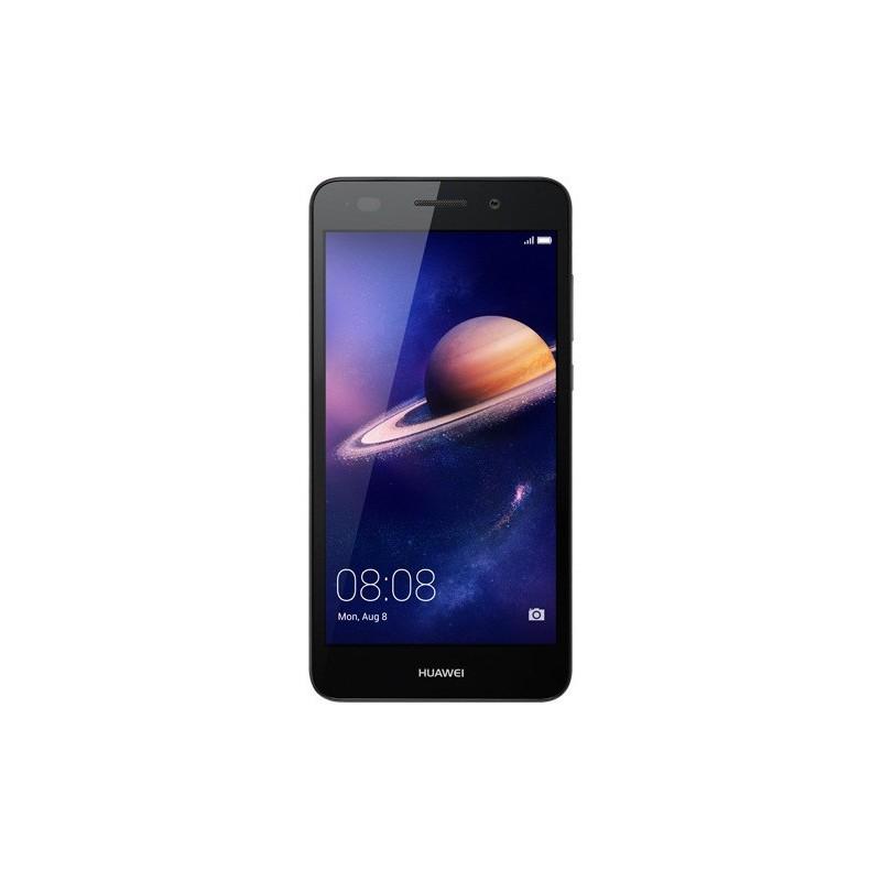 Téléphone Portable Huawei Y6 II / 4G / Double SIM / Noir + Film de protection + Coque + SIM Offerte