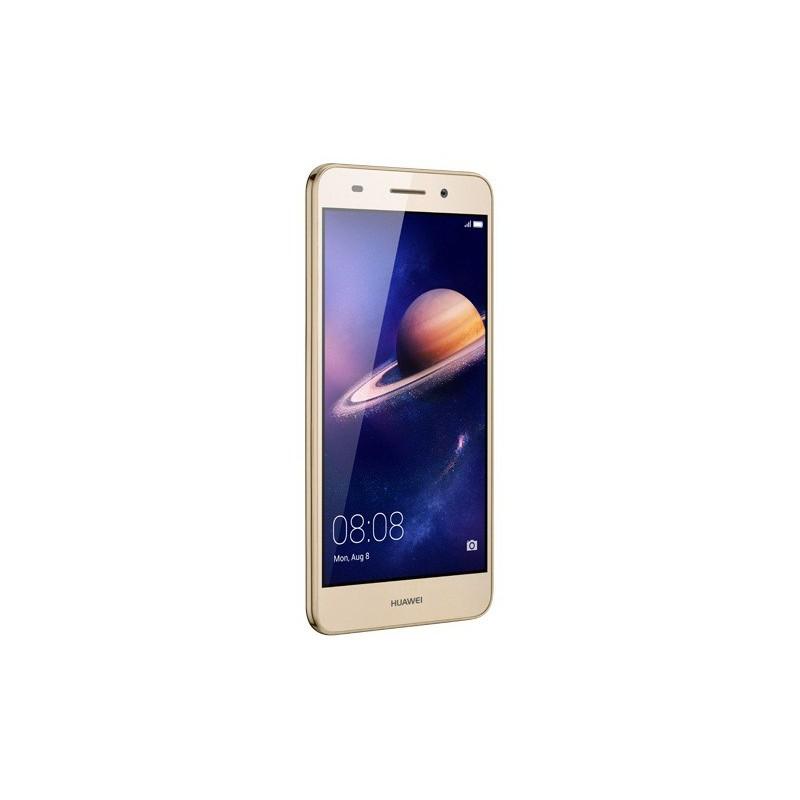 Téléphone Portable Huawei Y6 II / 4G / Double SIM / Gold + Film de protection + Coque + SIM Offerte