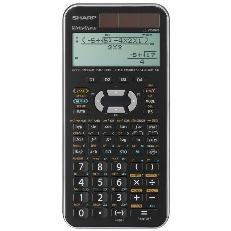 Calculatrice Scientifique Sharp EL-506X / Gris