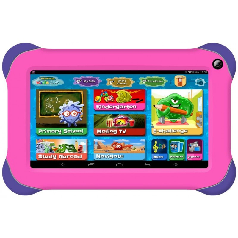 "Tablette AXON Kidzs 70 / 7"" + Etui Rose"