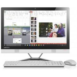 Pc de bureau Lenovo Tout-en-un IdeaCentre 300-22 Tactile / i3 / 4Go / Blanc