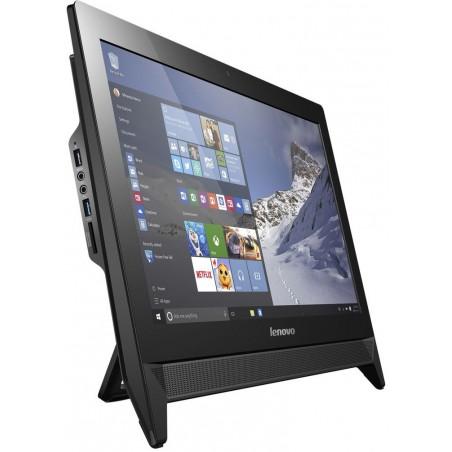 Pc de bureau Lenovo Tout-en-un C20-00 / Quad Core / 4Go / Noir