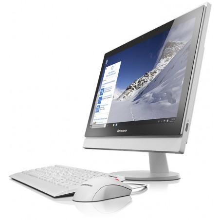 Pc de bureau Lenovo Tout-en-un S400z / i5 6è Gén / 4Go / Blanc