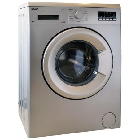 Machine à laver Automatique Saba SE1042 / 5 Kg / Silver