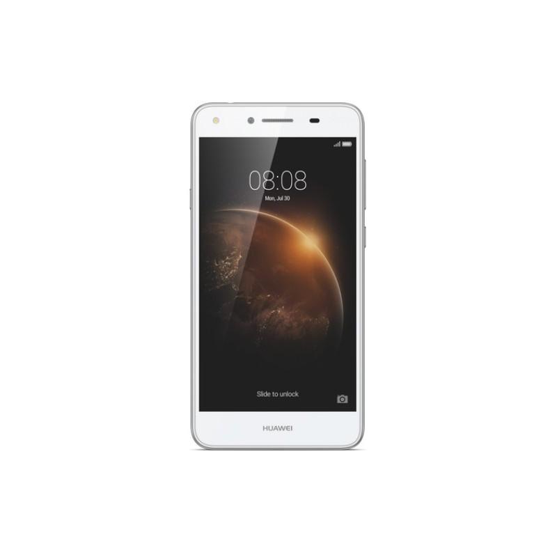 Téléphone Portable Huawei Y6 II / 4G / Double SIM / Blanc + Film de protection + Coque + SIM Offerte