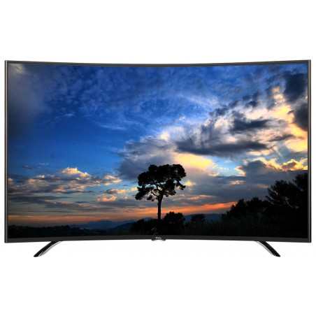 "Téléviseur TCL LED 55"" Smart Curved Android FHD Wifi"