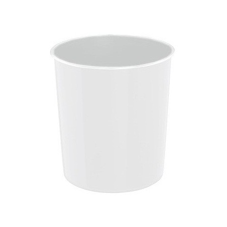 Corbeille à papier ARDA SUNRISE 20L / Blanc