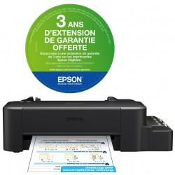 Imprimante a réservoir intégré Couleur Epson L120 + 4 Bouteilles