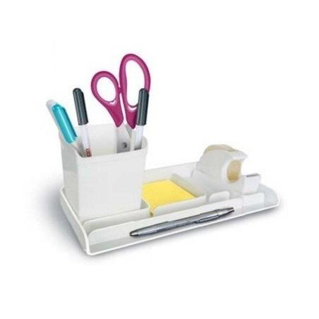 Plumier de bureau ARDA My Desk / Blanc