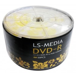 LS-MEDIA 50x DVD-R 4.7 GB / 120 MIN