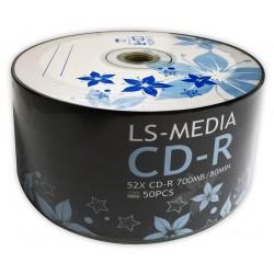 LS-MEDIA 50x CD-R 700 MB / 80 MIN