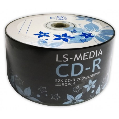 LS-MEDIA 50x CD-R 700 MB / 80 MIN