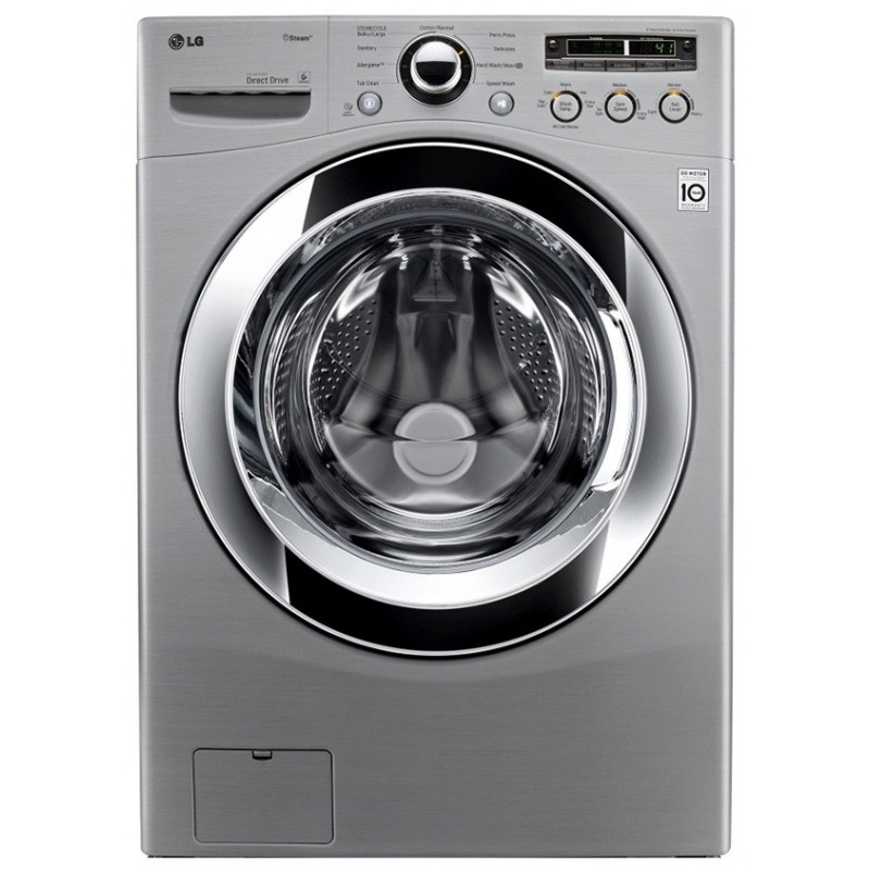 machine laver automatique lg lavante s chante 6 motion 15 kg silver. Black Bedroom Furniture Sets. Home Design Ideas