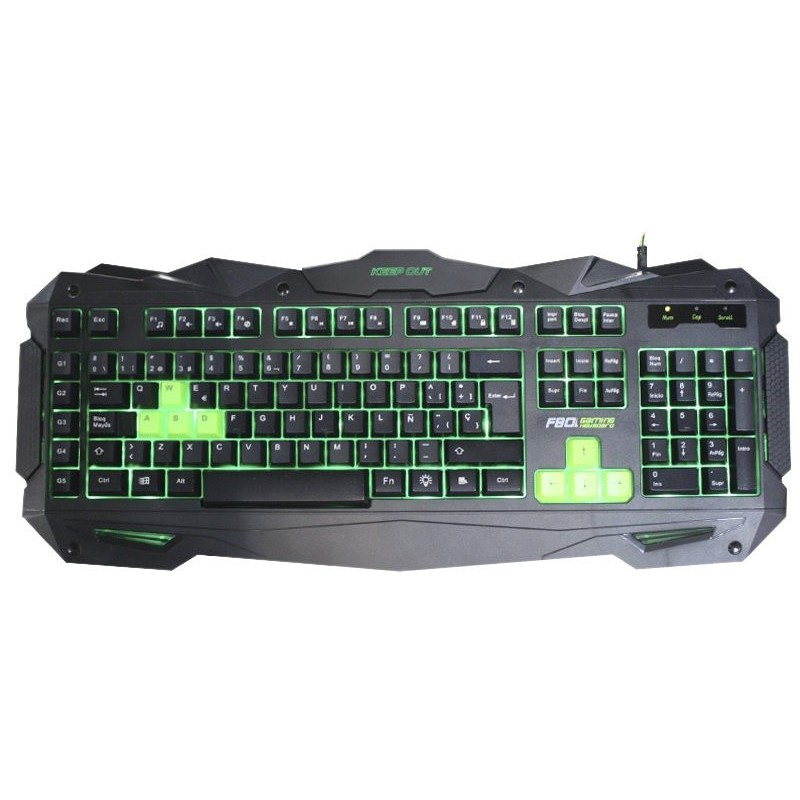 Clavier Gaming réctro-éclairé Keep Out F80E