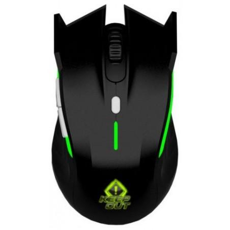 Souris Laser Gaming Keep Out XPOSEIDON / Noir